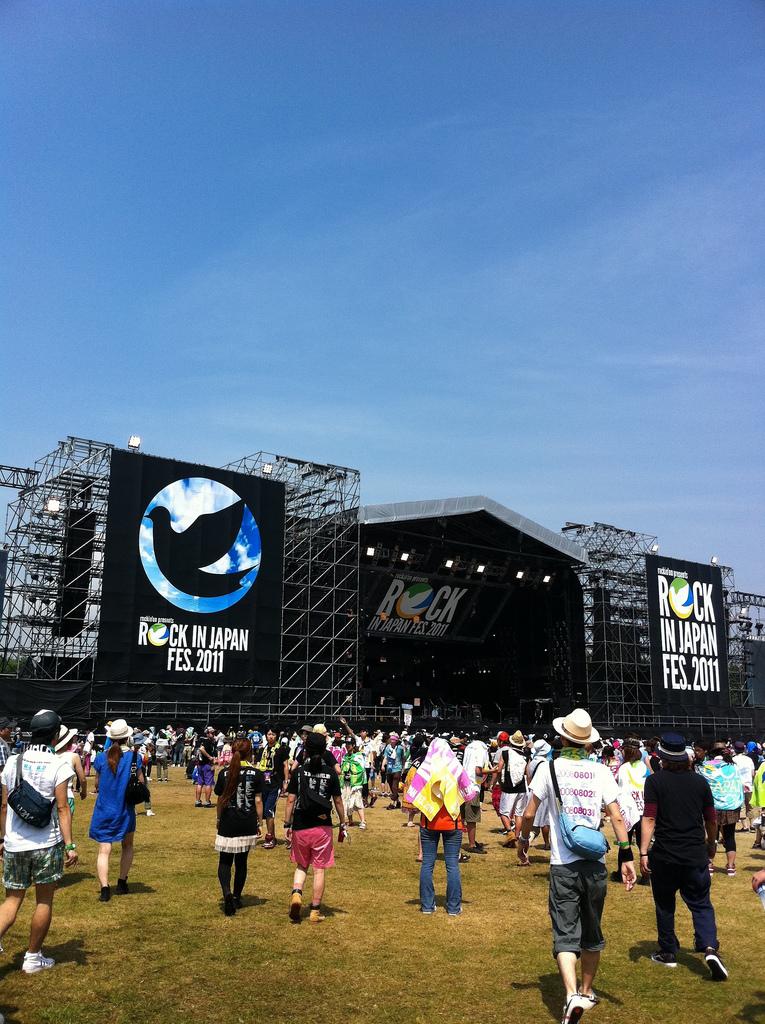 Rock in Japan Festival '11