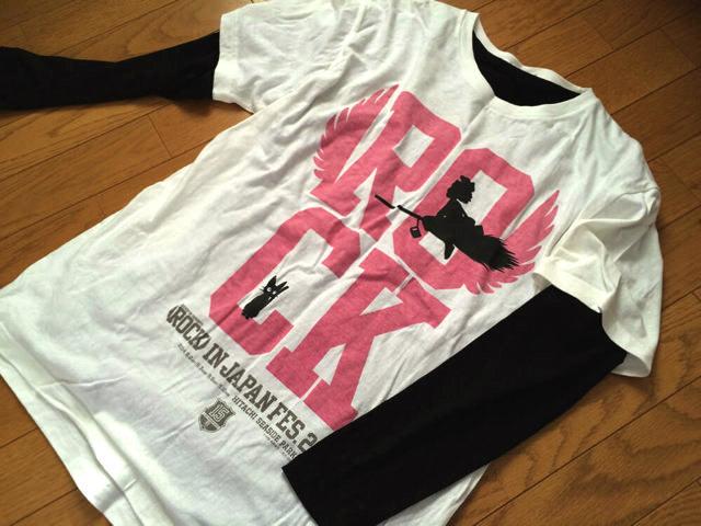 夏フェスのTシャツはオフィシャルの物を!