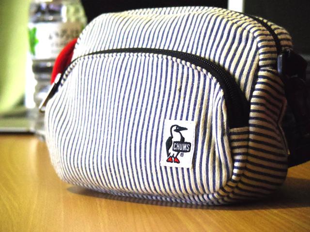 外観が丸くてかわいいチャムスのバッグ