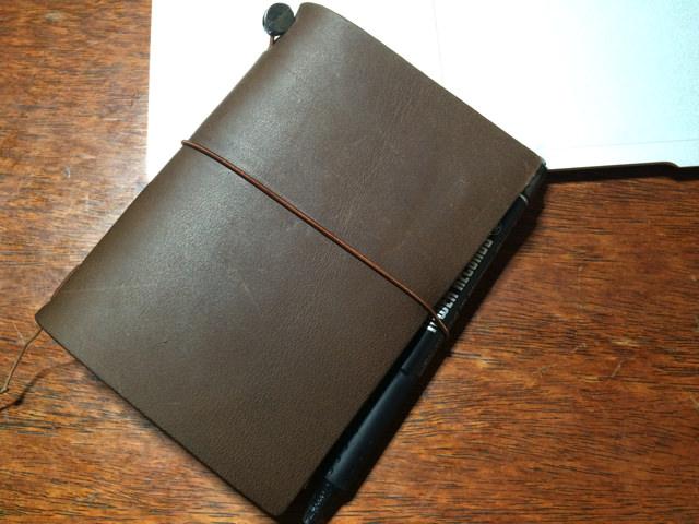 衝動買い正解!トラベラーズノートで毎日書くことが楽しくなってきた!
