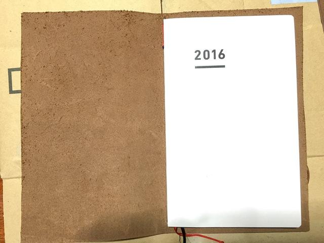 カバーを上下とも切り落として、ジブン手帳miniサイズになりました!
