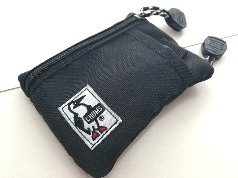 お札もカードも入るフェス用財布にぴったりなCHUMS の「Eco Key Coin Case」