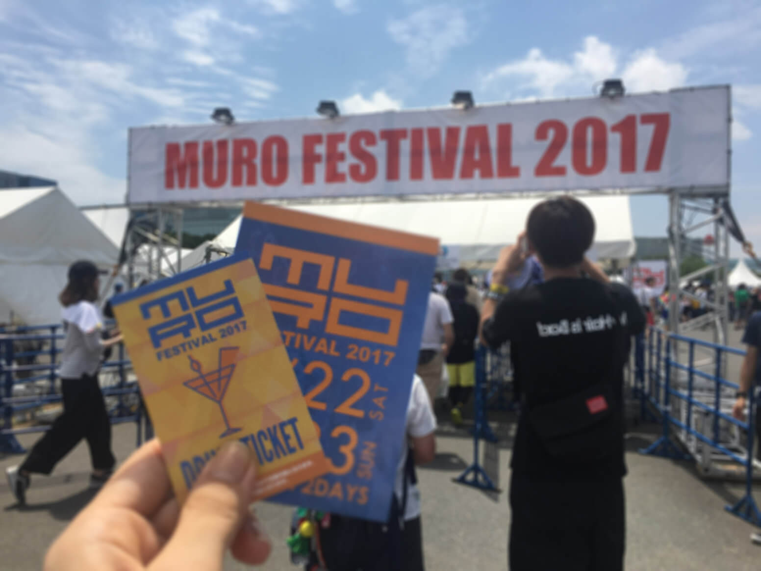 灼熱の暑さとアツさ!MURO FESTIVAL 2017@お台場ライブレポート!!